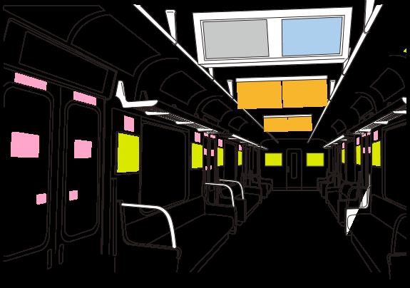 明石駅タッチパネル式デジタルサイネージ